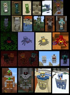 Biome Variants for More Creatures (Updated for OF 1.15) Minecraft Texture Pack