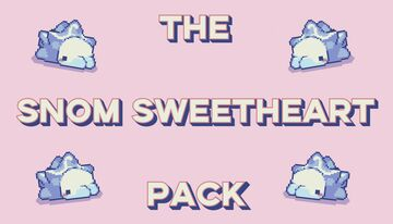 Snom Sweetheart Pack Minecraft Texture Pack