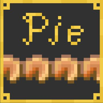 Pumpkin Pie Hunger Bar (16x) Minecraft Texture Pack