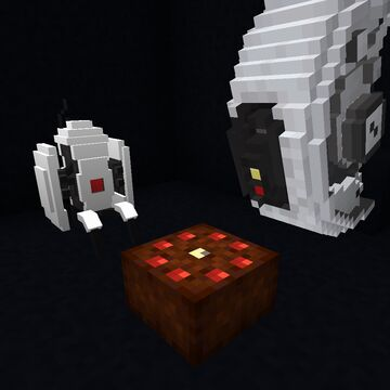 The Portal 2 Pack Minecraft Texture Pack