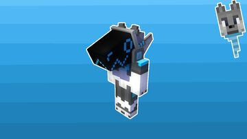 Protogen mask (+Fursuit) for Minecraft 1.15 - 1.16 Minecraft Texture Pack