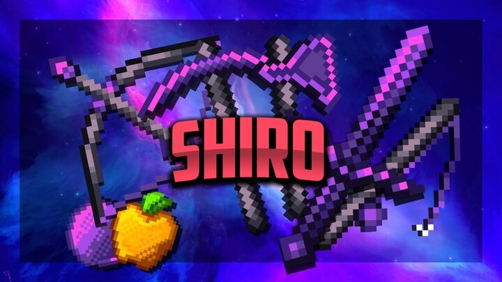 Popular Texture Pack : Shiro [32x] FPS PVP Pack