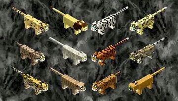 Minecraft Wild Cats! Minecraft Texture Pack