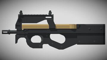 3D GUNS | P90! (1.12+) Minecraft Texture Pack