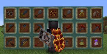 Old School Runescape items Minecraft Texture Pack