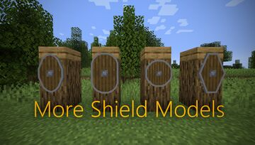 More Shield Shapes (3D Shields) Minecraft Texture Pack