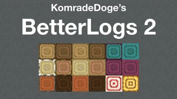 BetterLogs 2 Minecraft Texture Pack
