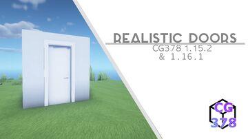 Realistic Doors [1.16.1] & [1.15.2] Minecraft Texture Pack