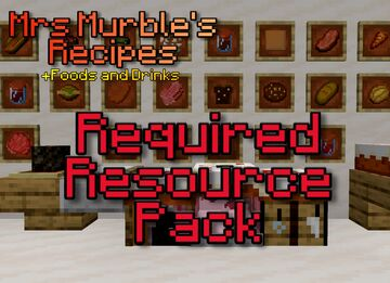 Mrs Murble's Recipes Datapack - Resources Minecraft Texture Pack