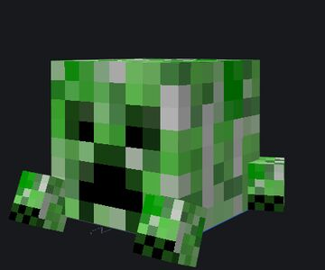 Melon Creepers Minecraft Texture Pack