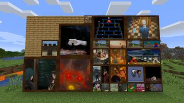 Video Game Paintings Minecraft Texture Pack