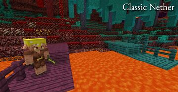 Classic Nether Minecraft Texture Pack