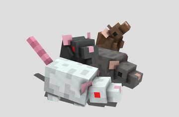 Silver Rats 2 Minecraft Texture Pack