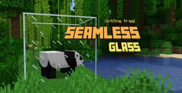 Seamless glass (No optifine required) Minecraft Texture Pack