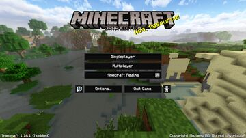 Enhanced Background Panorama Minecraft Texture Pack
