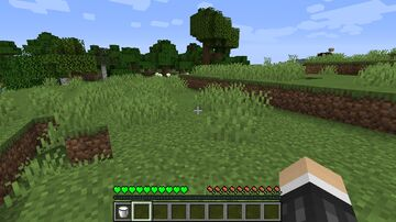 Heart and Weakness effect Reskin Minecraft Texture Pack