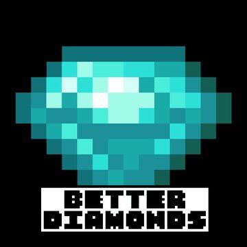 BEDROCK EDITION  - BETTER DIAMONDS Minecraft Texture Pack