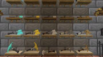 3D Tools & Swords Minecraft Texture Pack