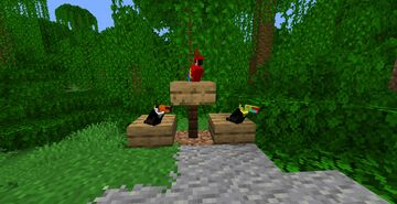 Fishy's Toucans! Minecraft Texture Pack
