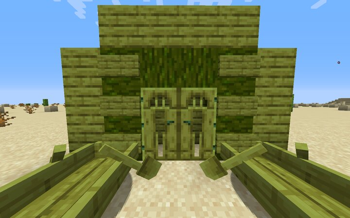 Green jungle wood. Inspired from VanillaTweaks, but the textures are my own