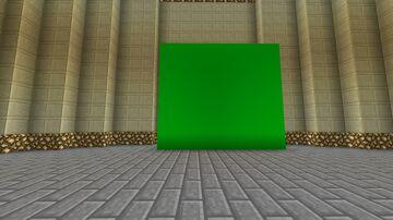 Fond vert Minecraft Texture Pack
