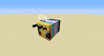 Bees with Pride Flags Minecraft Texture Pack