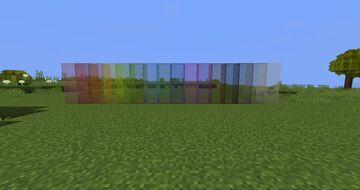 OPTIFINE Connected Glass Vanilla Style Minecraft Texture Pack