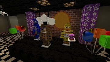 Freddy Fazbears Pizza V1 Resource Pack by KDgames Minecraft Texture Pack