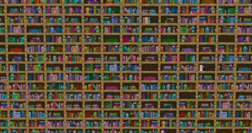 Varied Bookcases Minecraft Texture Pack