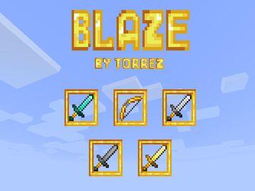 Blaze Minecraft Texture Pack
