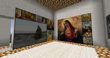 Catholicraft: Gallery of Luke - Catholic Art & Iconography Minecraft Texture Pack