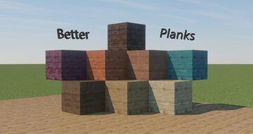 Better Planks - 256x 1024x 2048x Minecraft Texture Pack