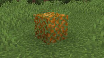 Orange Leaves Minecraft Texture Pack