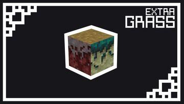 Extra Grass Minecraft Texture Pack