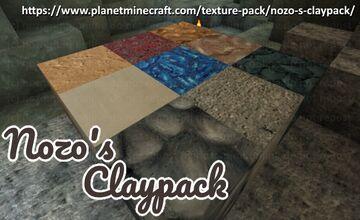 Nozo's Claypack [Handpainted Textures!]! Minecraft Texture Pack