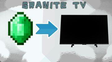 Granite TV Minecraft Texture Pack