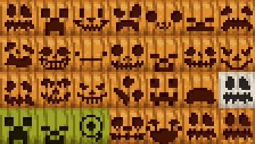 More Pumpkin Faces Minecraft Texture Pack