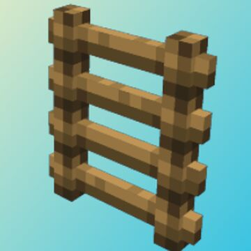 3D Ladders Minecraft Texture Pack