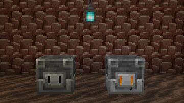 Pig Blast Furnace. Minecraft Texture Pack