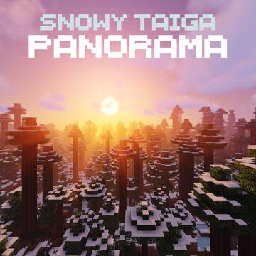 Snowy Taiga Panorama (with Music) Minecraft Texture Pack