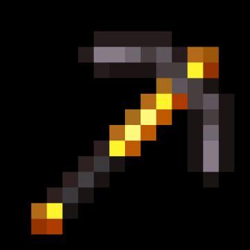 Blaze Rod Netherite Tools Minecraft Texture Pack