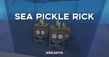 SEA PICKLE RICK Minecraft Texture Pack