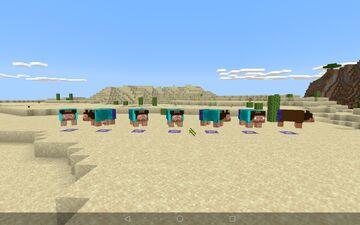 Spanda variants Minecraft Texture Pack