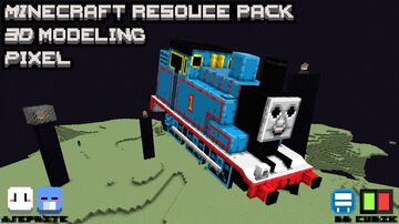 Thomas in Ender World [Optifine] Minecraft Texture Pack