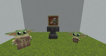 Baby Yoda Minecraft Texture Pack