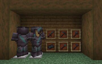 Weathered netherite Minecraft Texture Pack