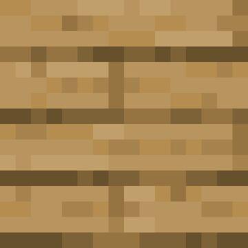 Flat Planks Minecraft Texture Pack