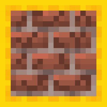 Slab version of Bricks Minecraft Texture Pack