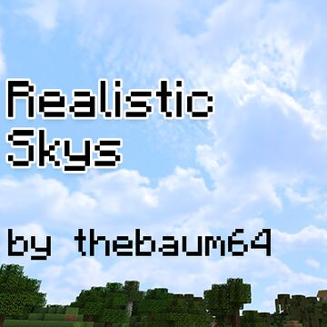 Realistic Skys Minecraft Texture Pack