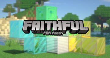 Faithful 64x - PBR Addon Minecraft Texture Pack